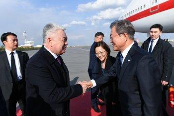 Корея Республикасының Президенті Мун Чжэ Ин Нұр-Сұлтан қаласына келді