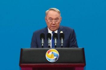 Нұрсұлтан Назарбаев Бейжіңдегі халықаралық форумға қатысуда