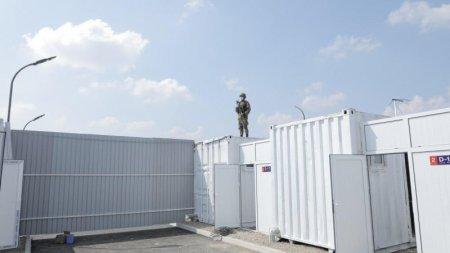 Өзбекстанда карантин орталығы 5-ақ күнде  салынды (ВИДЕО)